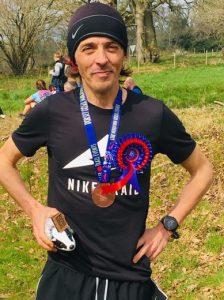 Jacek Cieluszecki won the Dorset Ooser Marathon