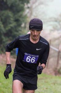 Jacek Cieluszecki focuses in the Dorset Ooser Marathon