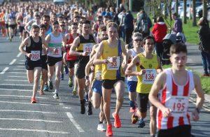 Josh King in Eastleigh 10k