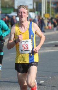 Josh King gives his all in Eastleigh 10k