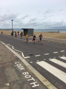 Phil Cherrett in the Bournemouth Bay Run 10k