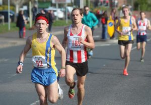 Rob McTaggart in Eastleigh 10k