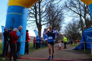 Robert Turner taking 2nd in the Self Transcendence 100k