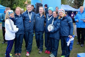 Scotland won the women's team competition at the Anglo Celtic Plate