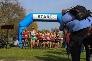The start of the Salisbury 10 road race