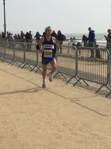 Tag wins the Bournemouth Bay Run Half Marathon