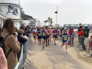Tag leads the way in the Bournemouth Bay Run Half Marathon