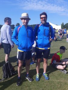Alex Goulding and Pawel Surowiec at the Lymington Lifeboat 10k