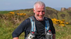 Andy Gillespie taking on the Devon Coast Challenge
