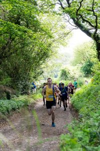 Chris Phelan-Heath in the Short race at the Maverick inov-8 Original Dorset
