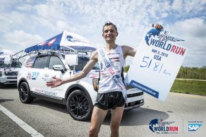 Dariusz Nozynski of Poland wins Wings for Life World Run at Sunrise, Florida