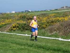 Dave Parsons in the Guernsey Easter Run XC