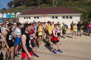 Strong Bournemouth AC presence on start line of Easter Quarter Marathon