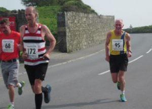 Ian Graham in the Guernsey Easter Run 10k