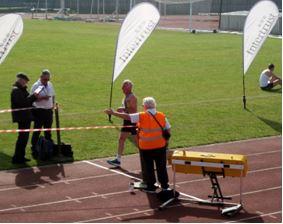 Ian Graham in the Guernsey Easter Run 5k