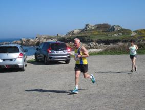 Ian Graham in the Guernsey Easter Run Stonecrusher XC Relay