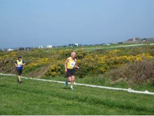 Ian Graham in the Guernsey Easter Run XC