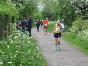 Ian Graham in the North Dorset Village Marathon