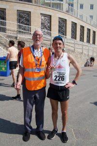 Jacek Cieluszecki is this year's winner of the Easter Quarter Marathon