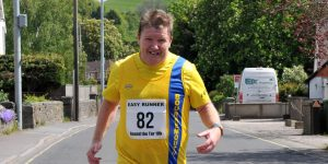 Julian Oxborough at the Glastonbury Round the Tor 10k