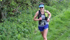 Kirsty Drewett taking on the Hellstone Marathon