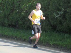 Matt du Cros in the North Dorset Village Marathon
