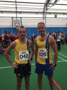 Jacek Cieluszecki & Rich Brawn at the Puddletown Plod Half Marathon
