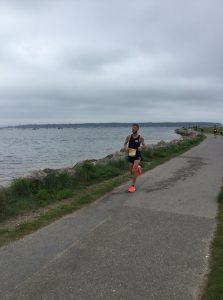 Anthony Clark in the Poole Festival of Running 10k