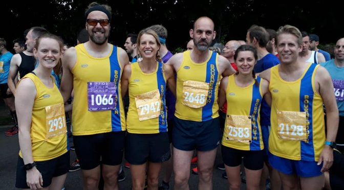 Bournemouth AC team at Poole Festival of Running