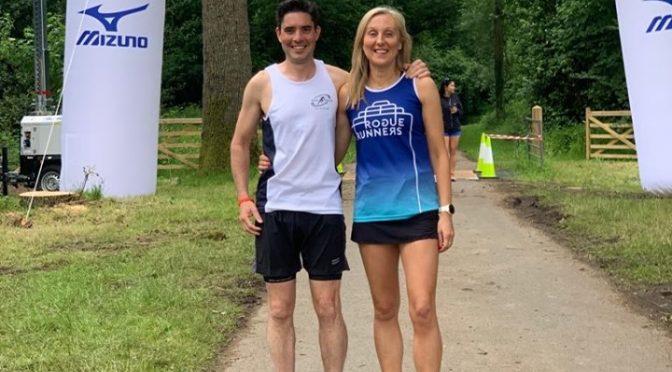 Chris O'Brien and Emma Draper at Endure 24