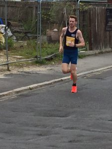 Dave Long in the Poole Festival of Running 10k