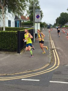 Emma Caplan in the Poole Festival of Running 10k