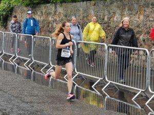 Georgia Wood in the Edinburgh Half Marathon