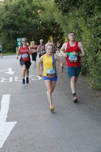 Helen Ambrosen in the Purbeck 10k