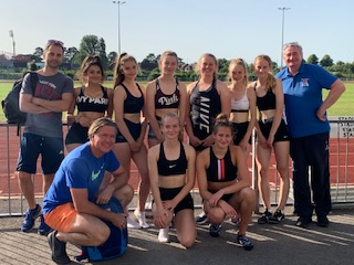 Nine BAC Athletes Selected to Compete at English Schools Finals