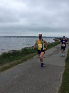 Ian White in the Poole Festival of Running 10k