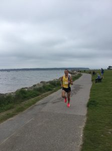 Jacek Cieluszecki in the Poole Festival of Running 10k