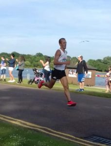 Jacek Cieluszecki in the Poole Festival of Running 5k