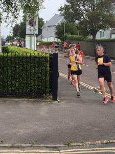 Katrina White in the Poole Festival of Running 10k