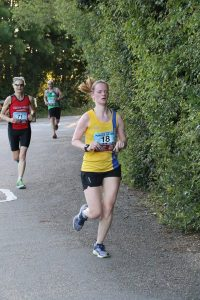 Katrina White in the Purbeck 10k