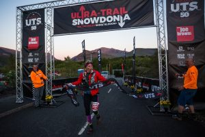 Linn Erixon Sahlström is first lady in the Ultra-Trail Snowdonia 50