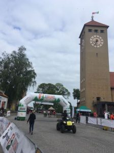 The start line of the Maraton Juranda