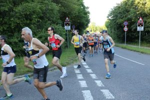Matt du Cros in the Purbeck 10k