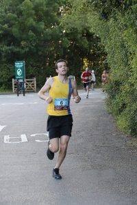 Matt du Cros taking on the Purbeck 10k