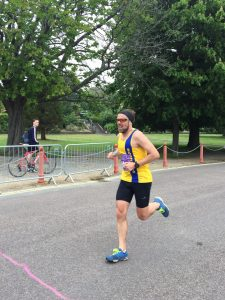 Pawel Surowiec in the Poole Festival of Running Half Marathon
