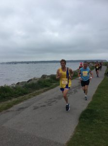 Phil Cherrett in the Poole Festival of Running 10k