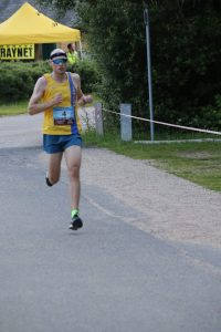 Rob Spencer in the Purbeck 10k