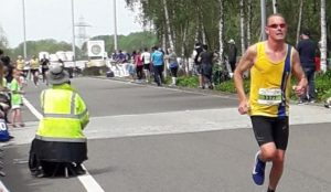 Simon Hearn in the Royal Berkshire 10k