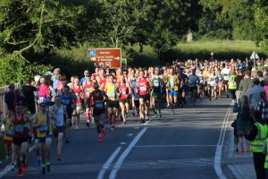 Start of the Purbeck 10k