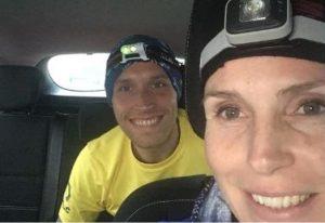Anna Trehane and Stu Nicholas at the Dark Ox
